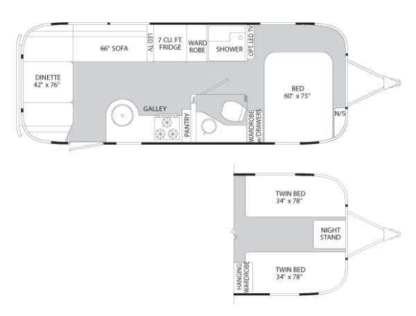 Photo Used 2012 Airstream Rv Travel Trailer RV  $64995
