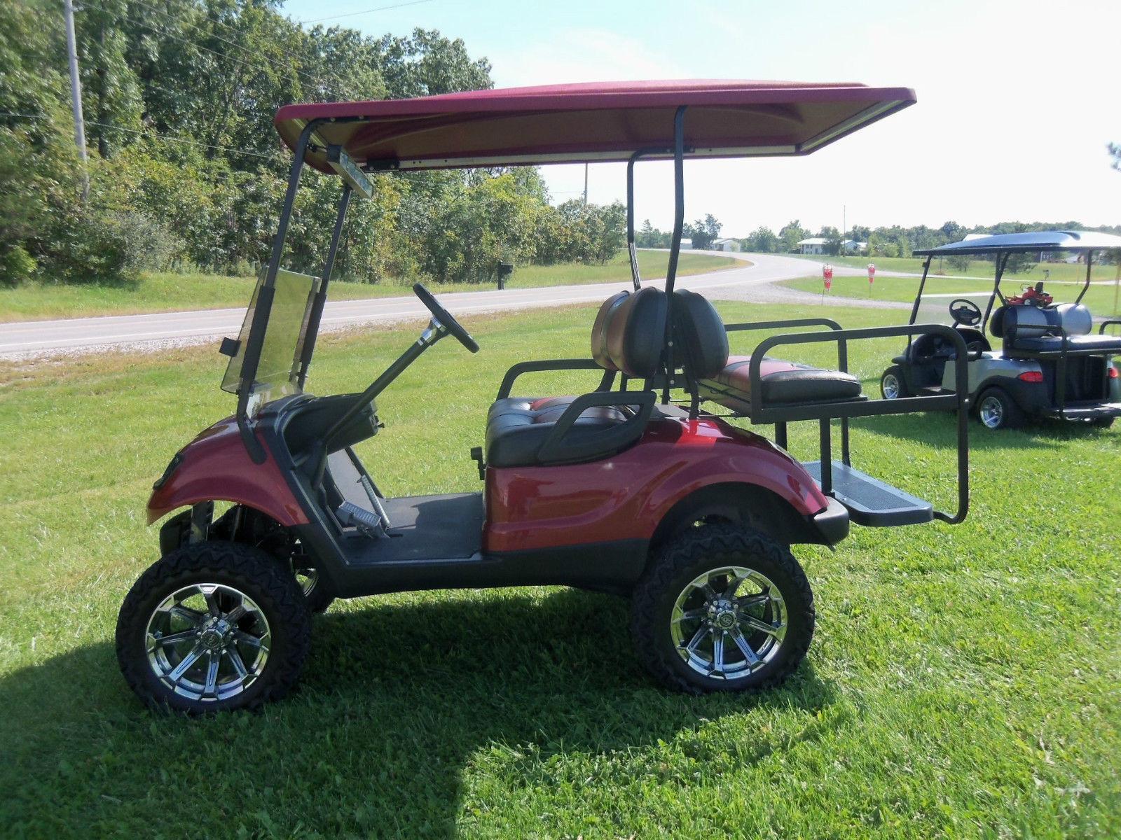 Photo Price Reduced 2012 Yamaha G-29 Gas Golf Cart