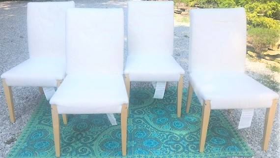 Photo 4 - IKEA Dining Chairs  5 Slipcovers - $200