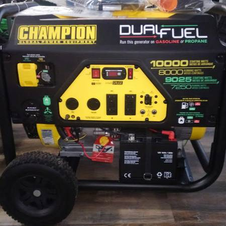 Photo 50 Amp Chion Electric Start Dual Fuel (Glenford)