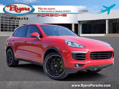 Photo Certified 2017 Porsche Cayenne S E-Hybrid for sale