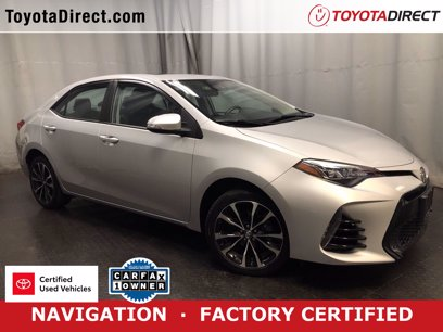 Photo Certified 2017 Toyota Corolla SE for sale