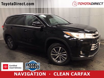 Photo Certified 2017 Toyota Highlander AWD XLE V6 for sale