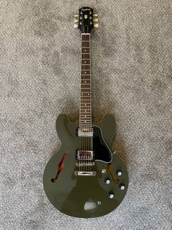 Photo Epiphone Inspired By Gibson ES-335 - $460 (Columbus)