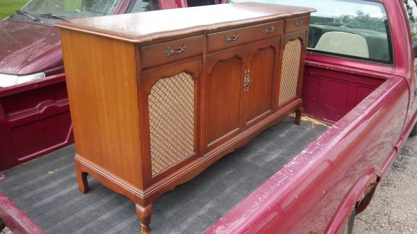 Photo Fisher Stereo Console Turntable - $275 (West Jefferson)