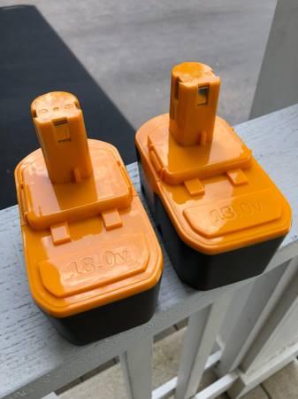 Photo Ryobi One compatible batteries - $20 (New Albany)
