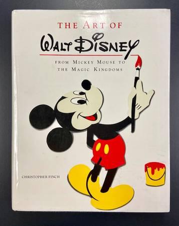 Photo The Art of Walt Disney From Mickey Mouse to the Magic Kingdoms - $25 (Worthington)