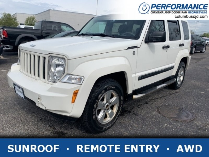 Photo Used 2010 Jeep Liberty 4WD Sport for sale