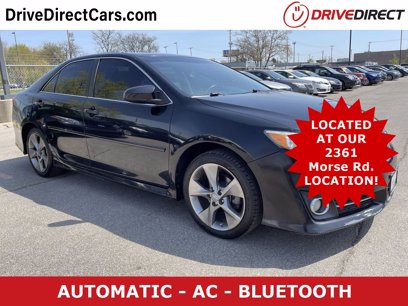 Photo Used 2012 Toyota Camry SE for sale