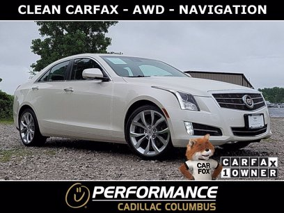 Photo Used 2014 Cadillac ATS 3.6 Premium AWD Sedan for sale
