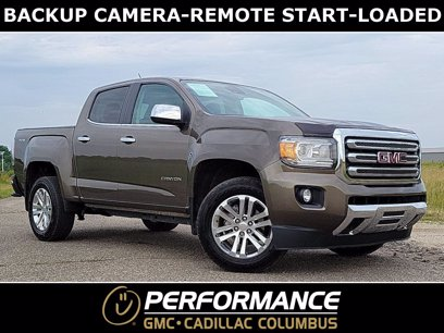 Photo Used 2016 GMC Canyon 4x4 Crew Cab SLT for sale