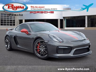 Photo Used 2016 Porsche Cayman GT4 for sale