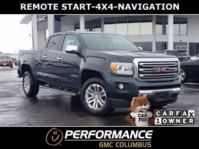 Photo Used 2017 GMC Canyon 4x4 Crew Cab SLT for sale