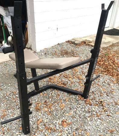 Photo Weider weight bench - $150 (Columbus, Ohio)