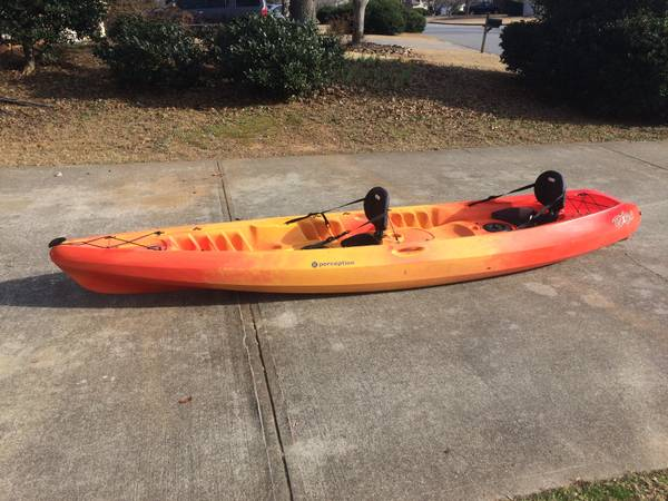13.5 foot Perception Tribe Tandem (2 person)Kayak - $500 (Roswell