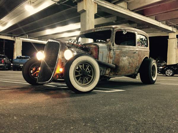 1935 Chevy Rat Rod Hot Rod Chevrolet 30000 Parker Cars Trucks For Sale Atlanta Ga Shoppok