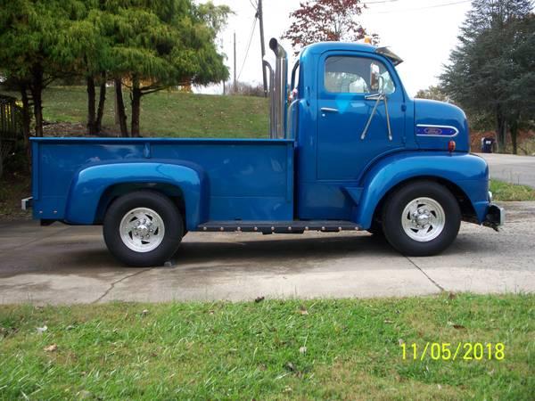 Photo 1951 Ford COE pickup - $34000 (Blountville Tn.)
