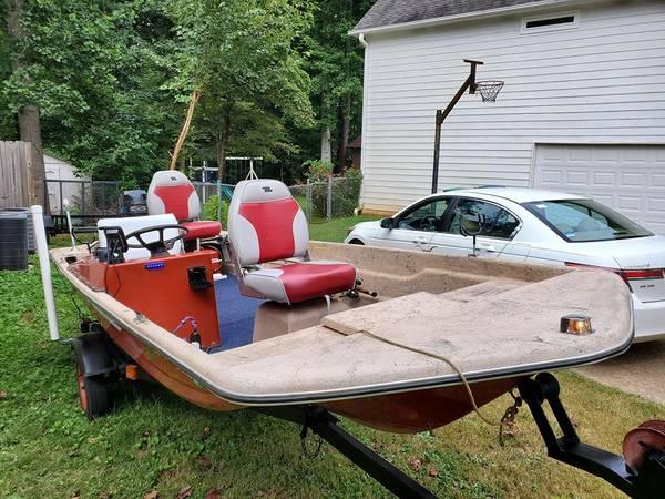 Photo 1978 15 ft Center Console 20HP Boat - $2,500 (Marietta)