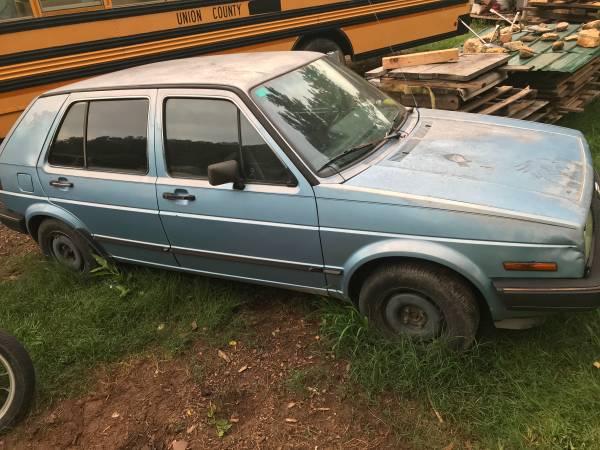 Photo 1986 VW Golf Diesel (not running) - $600 (Blairsville GA)