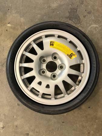 Photo 1990 1991 1992 1993 1994 1995 1996 Nissan 300 ZX spare tire OEM - $50 (doulasville)