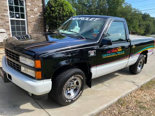 Photo 1993 Chevrolet Silverado 1500 Indianapolis 500 Pace Pick Up Truck - $21,500 (Marietta Georgia)