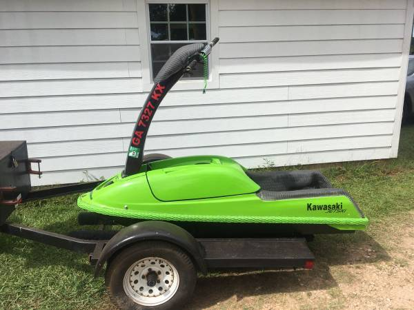 Photo 1993 Kawasaki 750 SX Stand Up Jet Ski - $2800