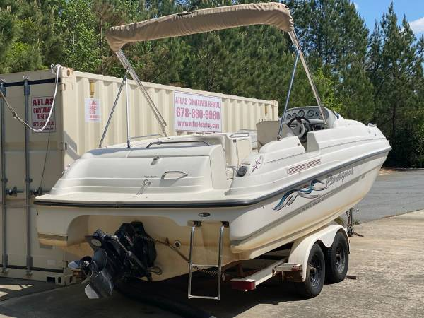 Photo 1999 Bayliner Marine Corp Rendezvous Boat - $5,000 (Woodstock)