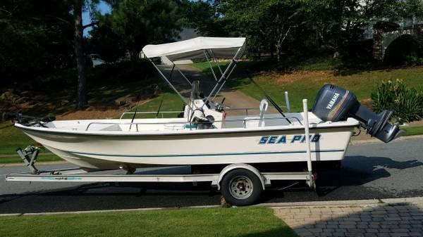 Photo 1999 Sea Pro 2100 Center Console Bay Boat - $13,500 (Woodstock)