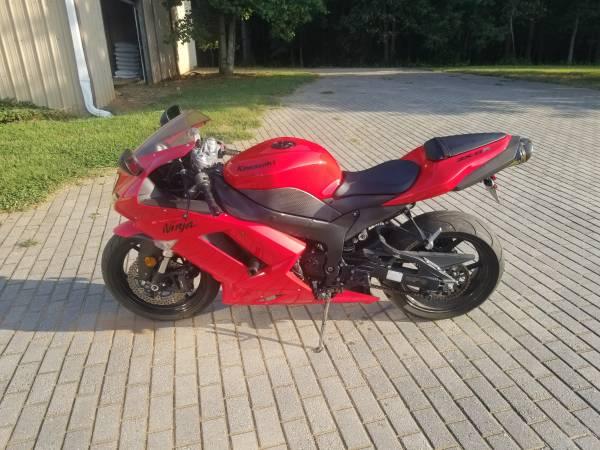 Photo 2007 Kawasaki ZX6R - $4,500 (Monroe GA)