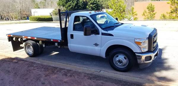 Photo 2015 Ford F350 Dually FlatBED - $25900 (Buford)
