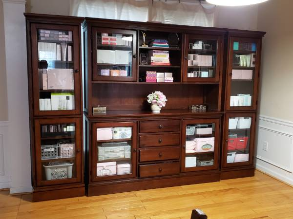 Photo 4-Piece Home Office Wall Unit Storage - $800 (Norcross)