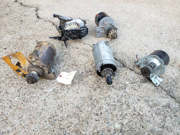 Photo 5 Starters from Riding Lawn Mower Engines Briggs  Stratton - Kohler - $35 (Kennesaw)