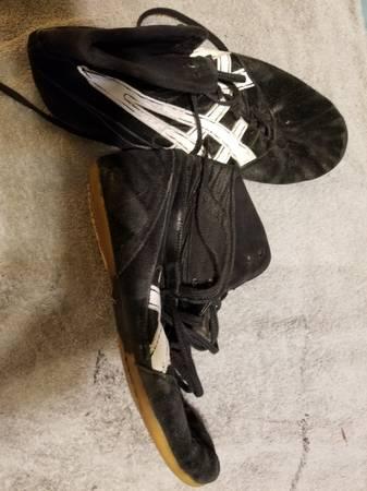 Photo Aisics wrestling shoes - $10 (Duluth)