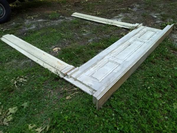Photo Architectural Antique Door Surround for French Double Doors - $100 (Flowery Branch)