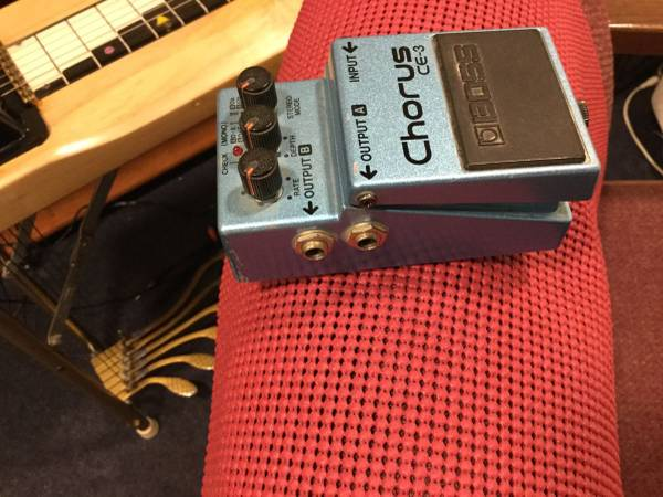 Photo BOSS CE-3, MIJ Green Label from the 1980s - $89