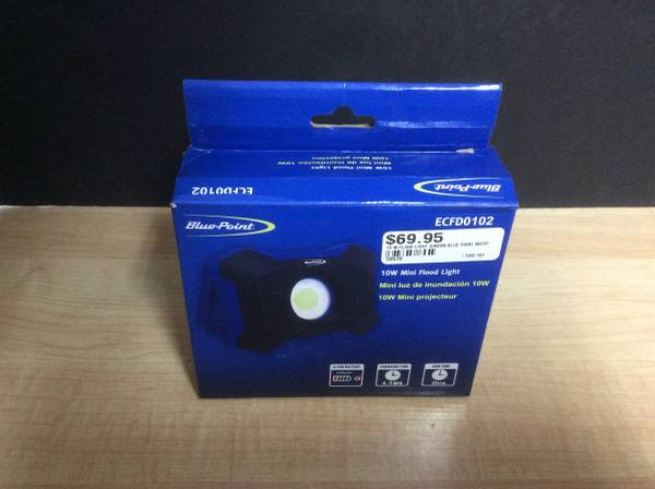 Photo Blue-Point 900 Lumen Mini Floodlight ECFD0102 - $70 (Marietta)