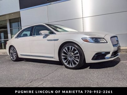 Photo Certified 2017 Lincoln Continental AWD Reserve for sale