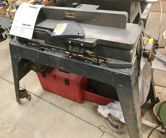 Photo Craftsman 6-18 jointer planer - $250 (Blairsville)
