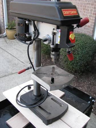 Photo Drill Press 9quot Craftsman 5 Speed - $100 (Flowery Branch)
