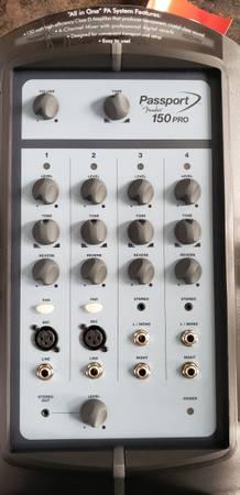 Photo Fender 150 Watt PA System - $250 (Atlanta)