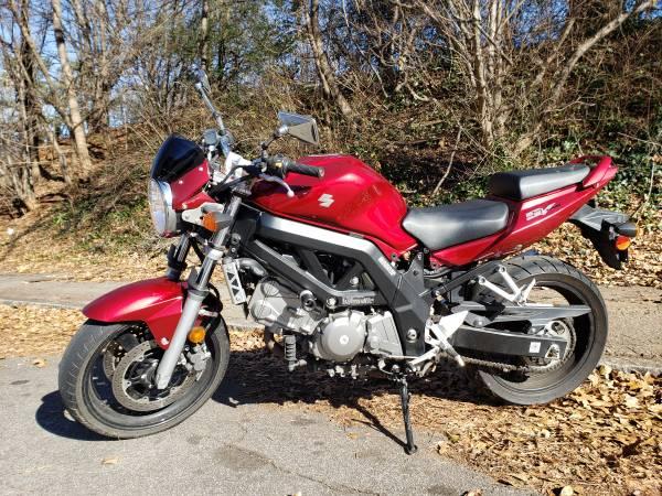 Photo For Sale 2007 Suzuki SV650 - $3,000 (memorial drive)