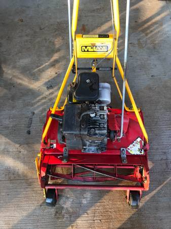 Photo Great 5 blade 20 inch MCLANE Reel Mower with Grass Catcher - $449 (Kennesaw)