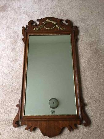 Photo HIGH END KINDEL FURNITURE of Grand Rapids KENT Mahoghany Mirror FIRM - $125 (Lawrenceville)