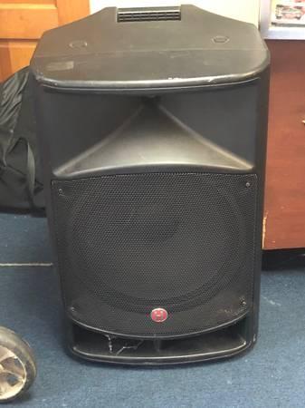 Photo Harbinger VaRi V2115 600 W 15quot Two-Way Powered Loudspeaker - $175 (Snellville)