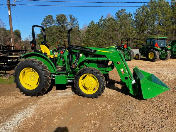 Photo JOHN DEERE 5055E WITH 520M LOADER - $1 (CALL NICK 770-262-7083)
