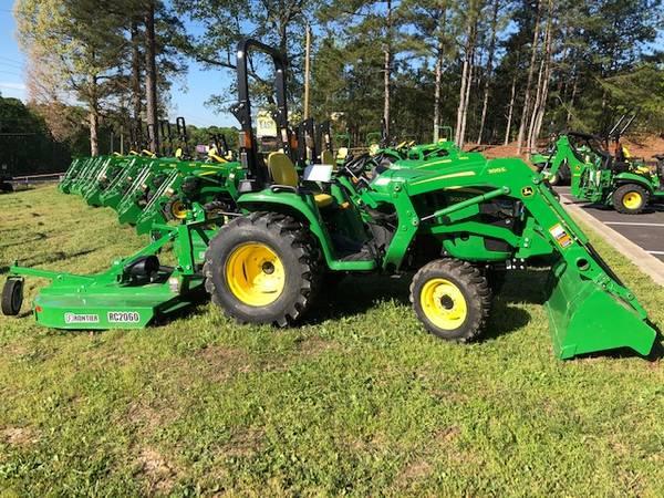 Photo John Deere 3025E Tractor Package - $17899 (Gwinnett)