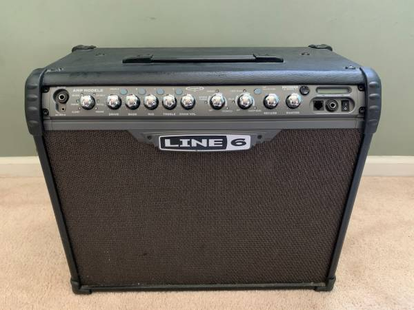 Photo Line 6 Spider III 75 75W Guitar Combo Amp Amplifier - $195 (Roswell)