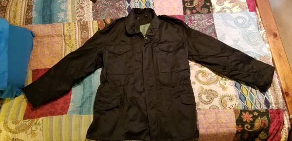 Photo M65 Style Cold Weather CoatSize Small RegularBlack (Like New) - $10 (Marietta)