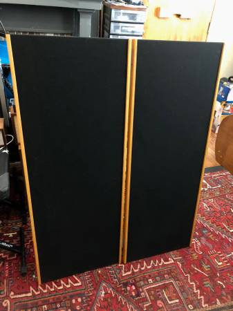 Photo Magnepan SMGa Speakers - upgraded stands - $350 (Atlanta)