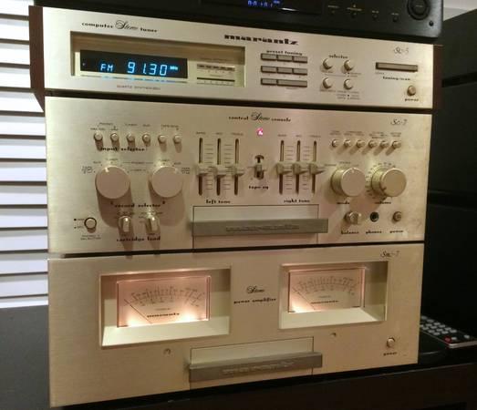 Photo Marantz Esotec SC7  SM7 Pre and Amplifier, ST-5 Tuner - $1375 (Atlanta)